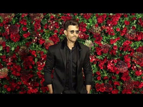 Hrithik Roshan At Ranveer Deepika Wedding Reception