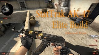 CSGO StatTrak AK-47 Elite Build Showcase