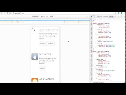 Chrome DevTools Responsive Mode