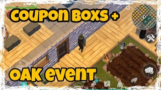 LDOE: OAK event + Coupon Boxs Opening Last day on Earth (v.1.7.10) (Vid#16) !!