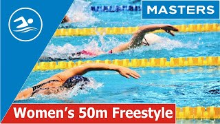 Women s 50m Freestyle Masters Swimming Belarus Чемпионат Беларуси по Плаванию Мастерс