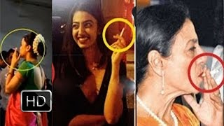 Full Video - Bollywood Actress CAUGHT Smoking in Real Life