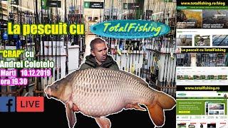 Pescuit la crap, tehnica si echipament cu Andrei Colotelo.