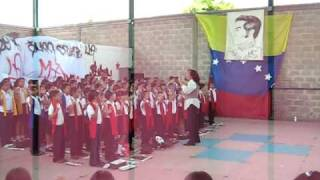 cantata a bolivar, piñonal 2009