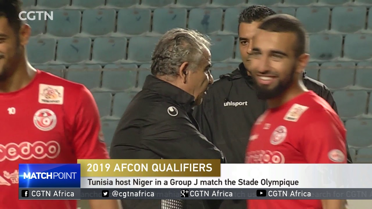 2019 AFCON QUALIFIERS :Tunisia host Niger in a Group J match the Stade Olympique