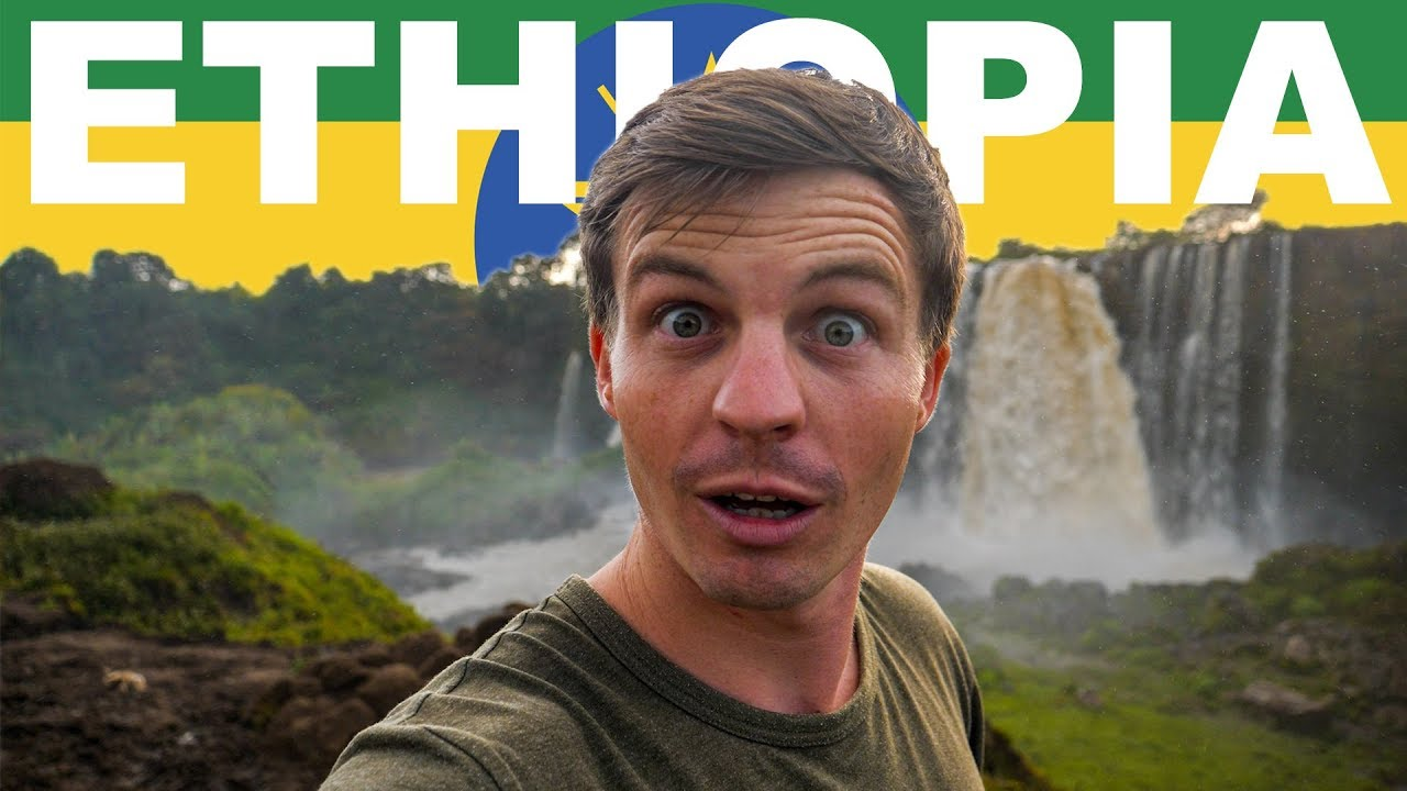 FIRST IMPRESSIONS OF ETHIOPIA (Blue Nile Falls Vlog)