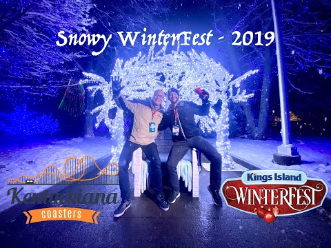 Snowy WinterFest - 2019 - Kings Island
