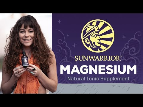 Magnesium    Essential Mineral For Over 300 Metabolic Reactions   Sunwarrior