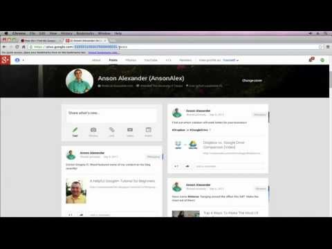 Google Plus (Google+) User ID – How to Find