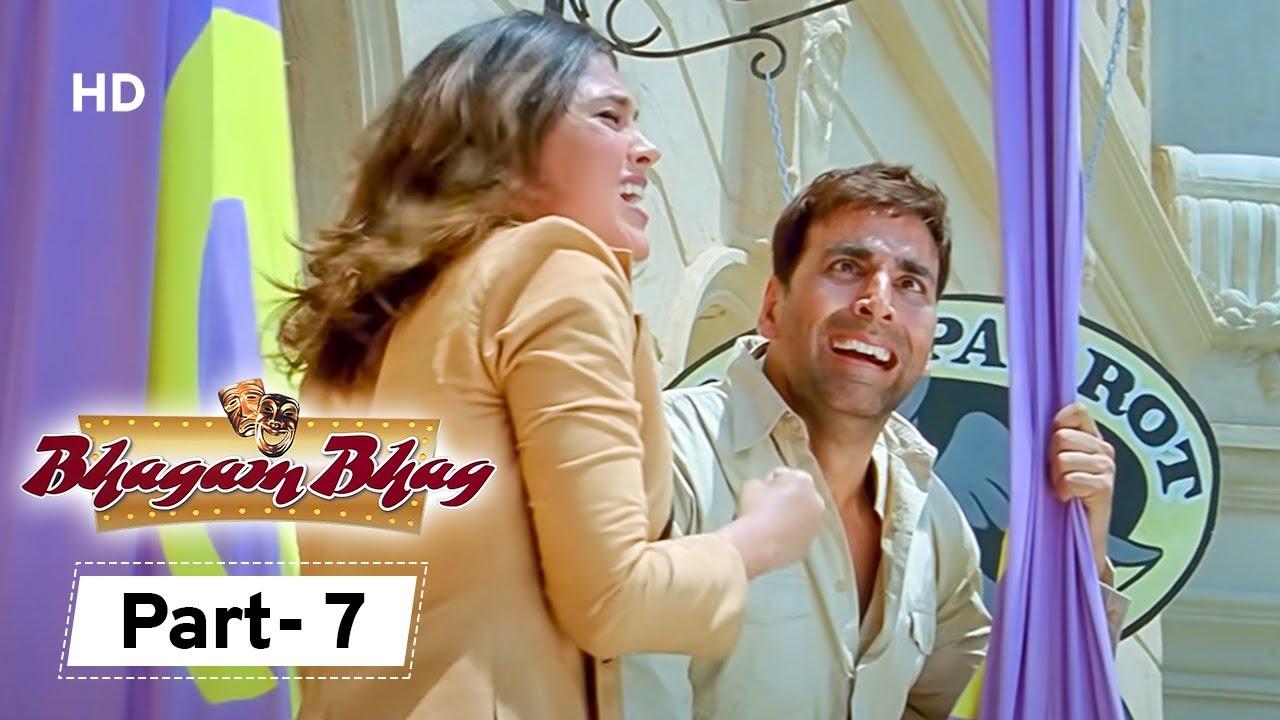 Download Bhagam Bhag - Movie In Parts 07 | Akshay Kumar - Govinda - Lara Dutta - Paresh Rawal