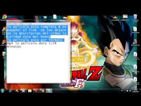 Dragon Ball Z: La resurrección de Freezer Película Completa en Español Latino (HD) 2015