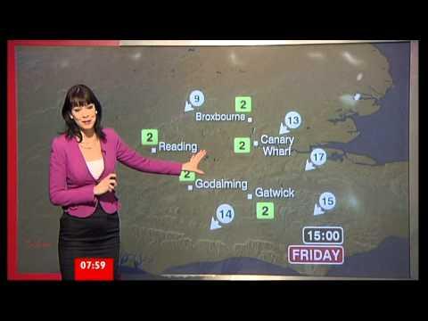ELIZABETH RIZZINI:: BBC Breakfast Weather  22 Feb 2013