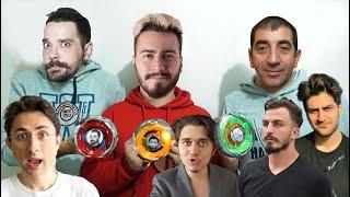 YOUTUBERLAR KAPIŞIYOR! (BEYBLADE)
