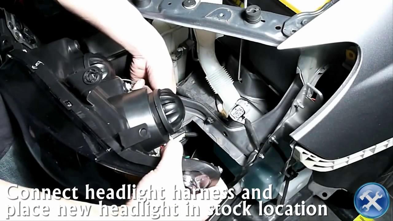 medium resolution of specdtuning installation video 2006 2007 subaru impreza projector headlights