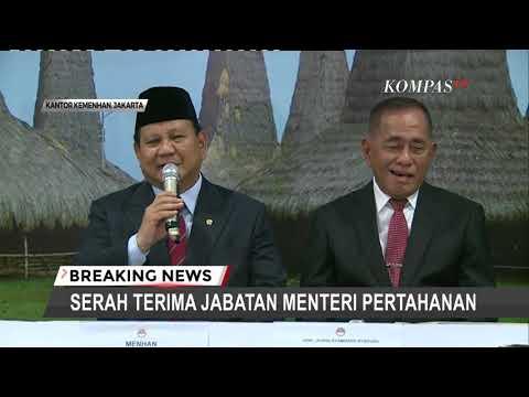 Prabowo: Saya Diingatkan Tugas Menhan Berat, Bantu Presiden Jaga Kedaulatan