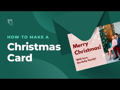 How to Make A Christmas Card