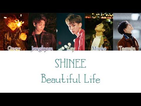 SHINee - Beautiful Life (한마디) lyrics + English translation