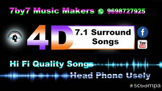 மருத அழகரே Marutha Azhagare High Quality 7 1 Surround 4D Songs Head Phone Use