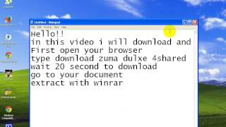 How to Download and Install zuma deluxe
