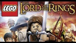 Первый взгляд на игру LEGO Lord of The Rings [RUS] [HD]