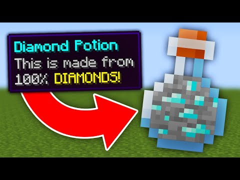 Minecraft, But All Ores Are Potions... - Wisp