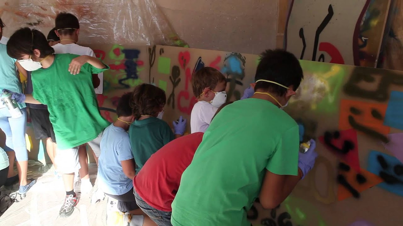 Taller graffiti para ni os por blanca yuste y chus reyes for Graffitis para ninos