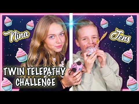 TWIN TELEPATHY CHALLENGE met NINA & JENS SCHOTPOORT + GIVEAWAY