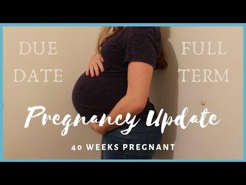 40-week-pregnancy-update-|-due-date!!!