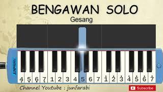 not pianika bengawan solo - tutorial pianika