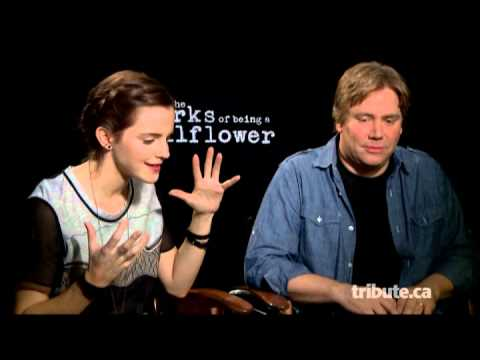 Emma Watson & Stephen Chbosky  Perks of Being a Wallflower  with Tribute at TIFF 2012
