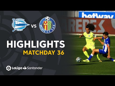 Alaves Getafe Goals And Highlights