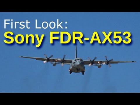 DJI OSMO vs Sony FDR AX 53 bei Sonnenschein am Rhein - YouTube