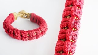 How to Make the Fenrir Paracord Bracelet | Knot and Loop Style