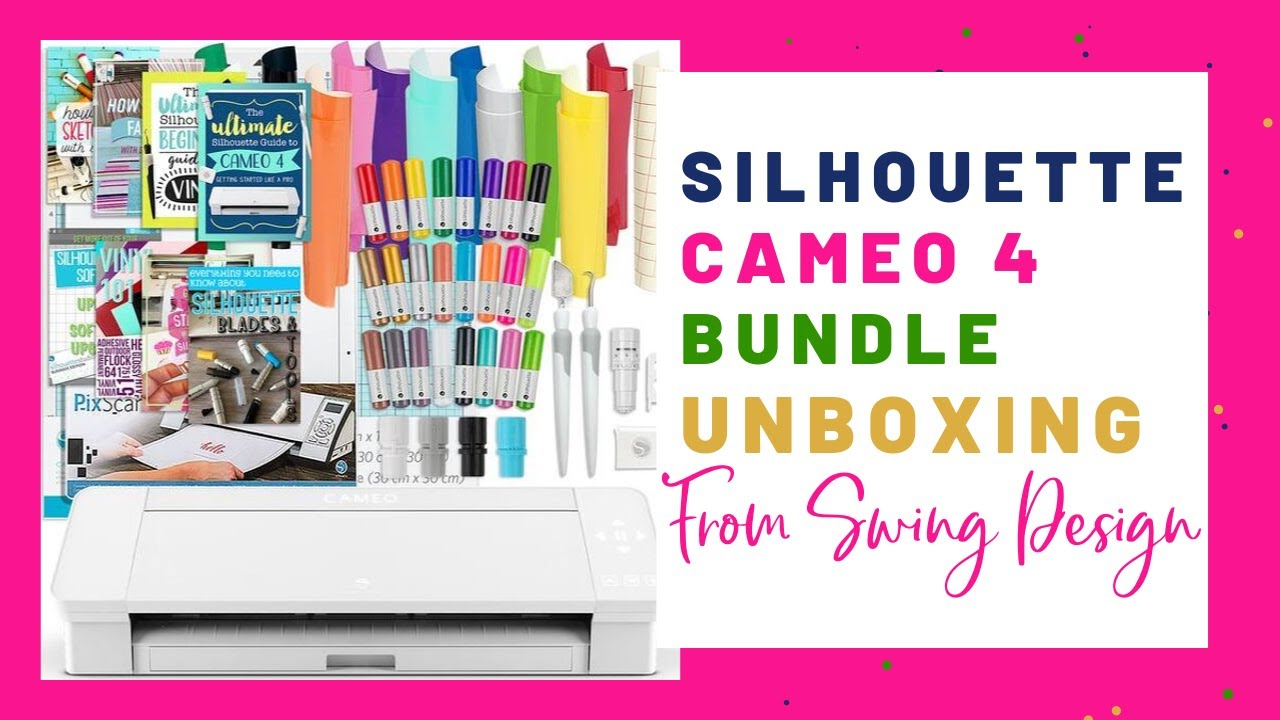 Silhouette CAMEO 3 Digital Cutting Machine Vinyl Sheets Hook Ebook /& a lot more