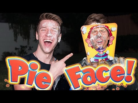PIE FACE CHALLENGE Sibling Tag Competion + iPhone 6S GIVEAWAY   Collins Key