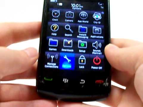 Blackberry Storm 2 9550 Erase Cell Phone Info - Delete Data - Master Clear Hard Reset