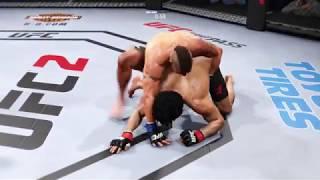 Bruce Lee vs. Diego Sanchez (EA Sports UFC 2) - CPU vs. CPU