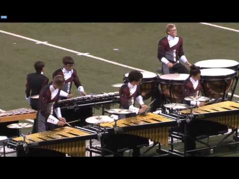 The Water's Edge Lockport Marching Porters 2015 BOA Competition