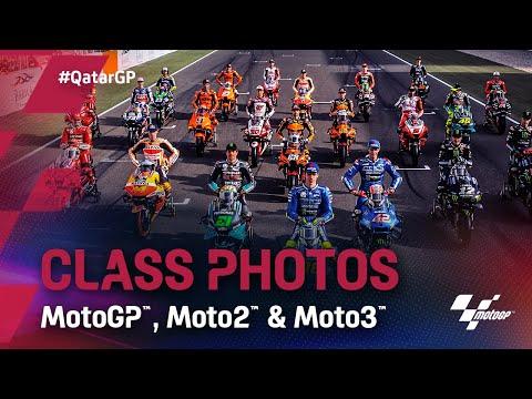 LIVE: MotoGP, Moto2 and Moto3 class photos from Qatar