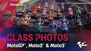 LIVE: MotoGP, Moto2 and Moto3 class photos from Qatar