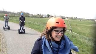 Team Zonneweelde ontdekt Zeeuws-Vlaanderen per Segway