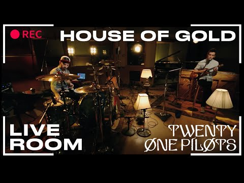 "twenty one pilots - ""House Of Gold"" captured in The Live Room"