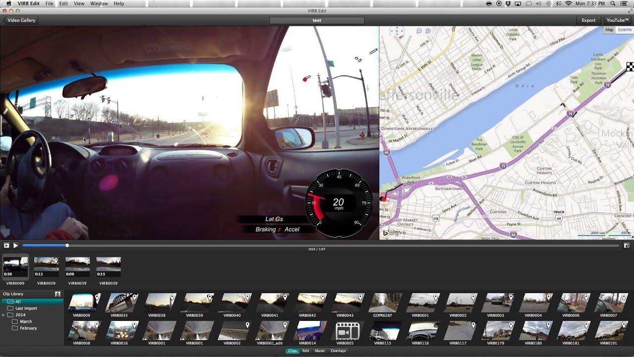 Basic Virb Edit Software Walkthrough - YouTube