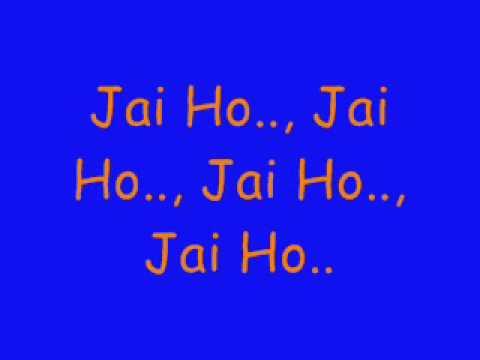 JAI HO slumdog millionaire   A R Rahman lyrics