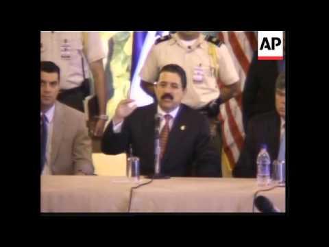 Honduras and Nicaragua join the CAFTA