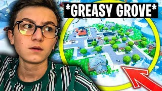 🔴 'GREASY GROVE' returns from 'DEMAIN'?! - CODE PIERRE-YT 😋 [LIVE FORTNITE EN]