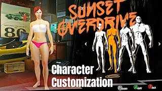 SUNSET OVERDRIVE - Full Character Customization (PC Gameplay)