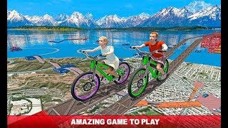 Impossible Tracks; kids Bicycle games for Android Or ios