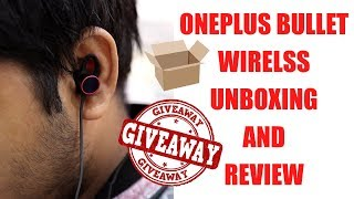 OnePlus Bullet Wireless Unboxing, Review and Surprise #GTUSWAG Style