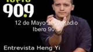 Radio ibero 90.9  Entrevista Daniel Corona